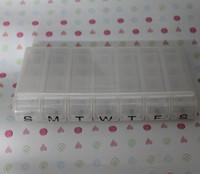 7 day 28 compartments pill box