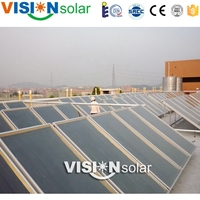 Stable collector performance solar water heating panel price