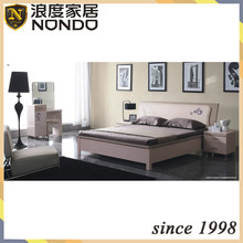 Double bed furniture storage bed 7805