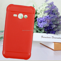 2015 new style contrast color PU leather mobile phone case cover with card slot wallet and stand holder for sumsung s6