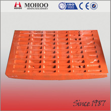 Long Wear Life Mn13 Mn18 High Manganese Steel Jaw Plate
