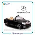 Mercedes- benz niños con pilas paseo en el coche eléctrico 6v juguete del coche del rc