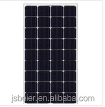 110W/115W/120W Mono solar panel/module China Manufacturer high efficiency for LED Street light, on and off-grid PV plant