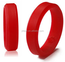 Customs Design High Quality Fashion Silicone Wedding Ring, Silicone Printed/Embossed/Debossed Silicone Wedding Ring