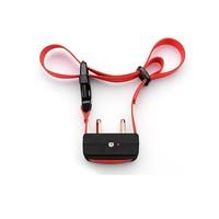 Best Advanced Electronic Red Nylon Collar No Bark Control Dog Training Collar with Adjustable Sensitivity Control dog collar