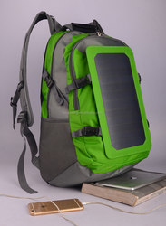 Produce 6.5W Solar charge bag solar backpack free power factory