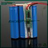 korea 12v 5ah lithium battery pack with led pcb