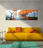 Natural Scenery Handmade oil painting on canvas
