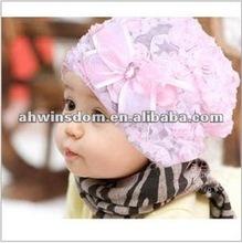 2012 fashion lovely small flower princess children hats
