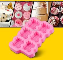 2015 recién silicio de la pasta de azúcar del molde para pastel de boda