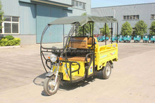 3 Wheel Cargo Motor Cycle / Petro Van Tricycle with Roof
