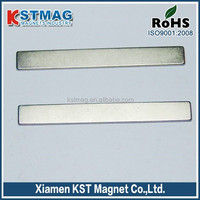 Permanent bar Neodymium Magnet with nickel plating