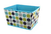 Innocrea Storage Boxes Office Cardboad Makeup Case With Non-Woven