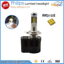 high power 12v 45w/ 55w led light H1 H3 H7 H8 H9 H10 H11 9005 9006 Car LED headlight