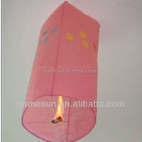Biodegradable color paper balloon with various designs