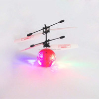 Colorful Wholesale Remote Control rc toys ufo LED flying toys