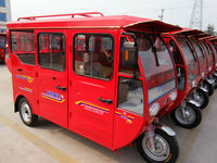 China manufacturer passenger tricycle 3 wheel gas taxi for sale