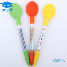 Novetly Top Selling banner round pen Promotional