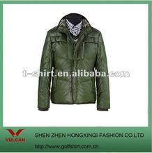 jacket fashion 2012 use polyester material lining down