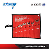Red Handle Open End Wrench 8PCS