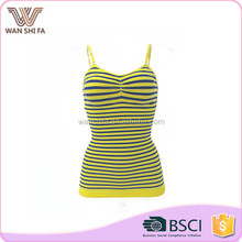 Sexy stripe print bodysuit oem women body seamless shaper