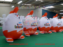 2014 Popular Inflatable Cartoon Characters/Advertisement Cartoon/Inflatable Cartoon Kinder