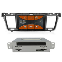 Indash Touch Screen HD Car Dvd player with Gps Navigation for Peugeot 508 ,car radio with bluetooth