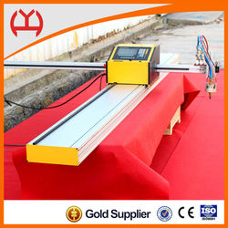 economical Portable cnc plasma/flame metal cutting machine foming any plane shapes at low price