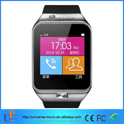 2015 latest smart watch mobile phone GV-09 with good price