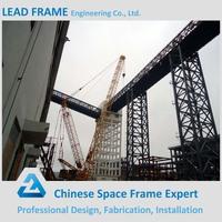 Galvanized steel structure truss bridge