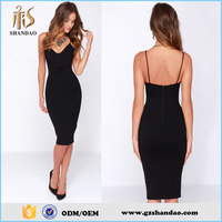 2015 Shandao wholesale Slim Sexy woman night evening club Bandage Dress