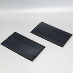 Frameless 12V 1.5W epoxy resin small solar panel for toys