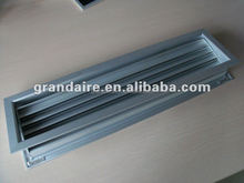 Anodized Aluminum door grille exhaust air vent for air conditioning system