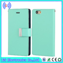 GOOSPERY Mercury Rich Diary Flip Leather Case for Iphone 6S Plus, Stock PU Leather Case