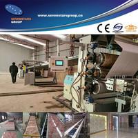 New pvc floor tile production line PVC profile making machine