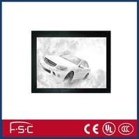 Single side double side aluminum frame slim LED lighting magnetic led light box