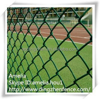 Playground Galvanized PVC Coated Chain Link Fence