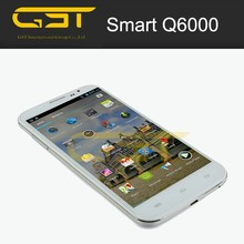 Big touch 6.0'' screen android 4.4 mobile phone 4g smart phone q6000