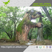sichuan life size resin stuffed animatronic animal in theme park