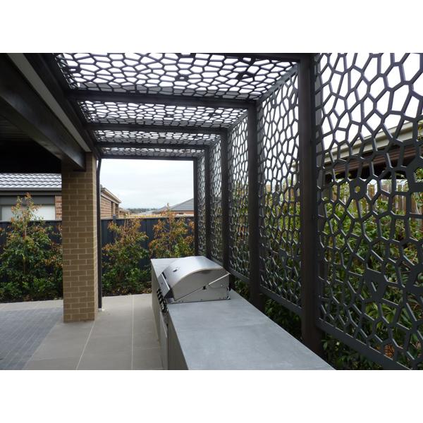Decorativi in alluminio pareti divisorie pannelli esterni schermi e divisori id prodotto - Radioterapia a bagno ...