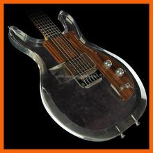 OEM ODM custom made plastic clear acrylic guitar display case