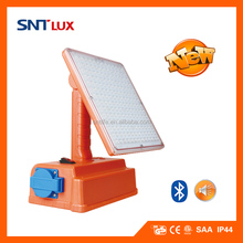 SNTLUX LED Portable Work lamp with Bluetooth Speaker and Socket