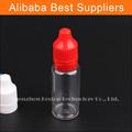 Nova 15ml 10ml material plástico pet frasco conta-gotas para o suco e graciosa com tamper& criança tampa à prova de fino e ponta de gotejamento