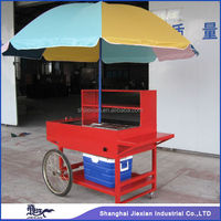 JX-HS150 Practical Deft hand push Street Outdoor Mobile food stall design