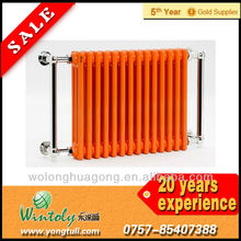 Radiator finish powder coatings