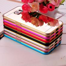 Mobile Phone Case with Mirror Back Cover Case for Samsung Galaxy S6/Mirror Phone Case for Samsung Galaxy S6