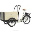cargo 3 wheel motorized bike with electric rickshaw battery