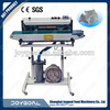 d-cut bag forming machine with stepping motor