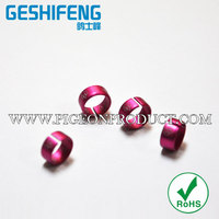 17mm high quality open metal pigeon foot rings,ring pigeon..