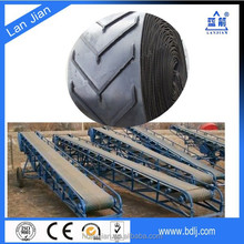 Nylon/nn canvas factory price ISO certified patterned/chevron conveyor belt (for powdered)